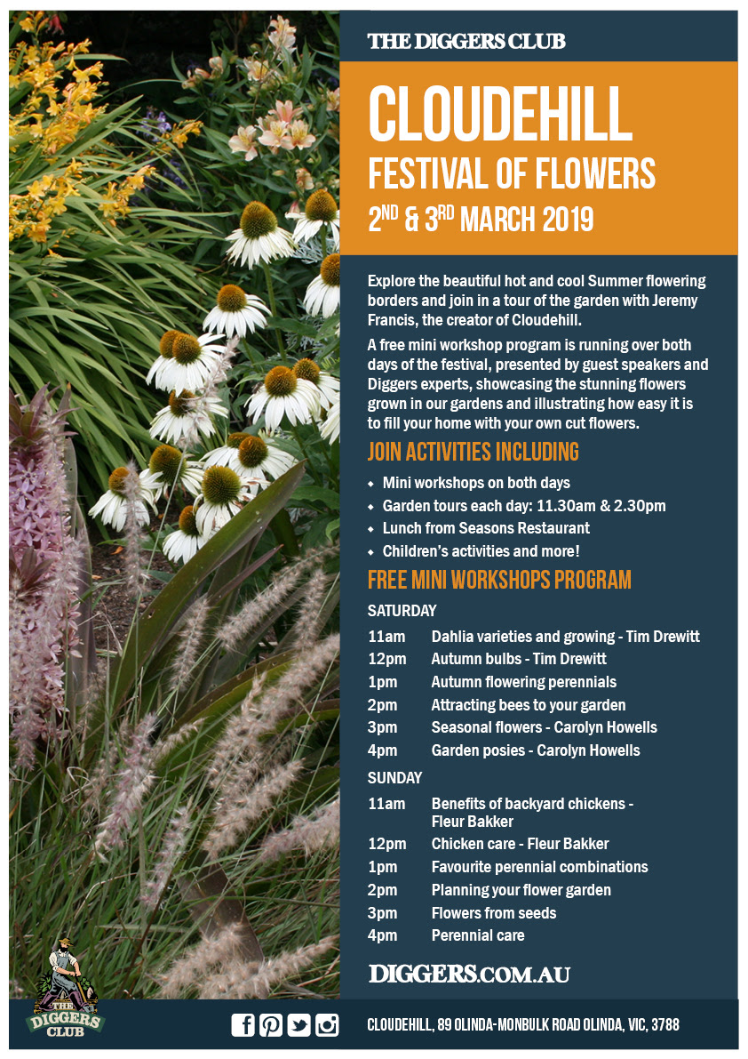 Festival of Flowers 2019 at Cloudehill Gardens