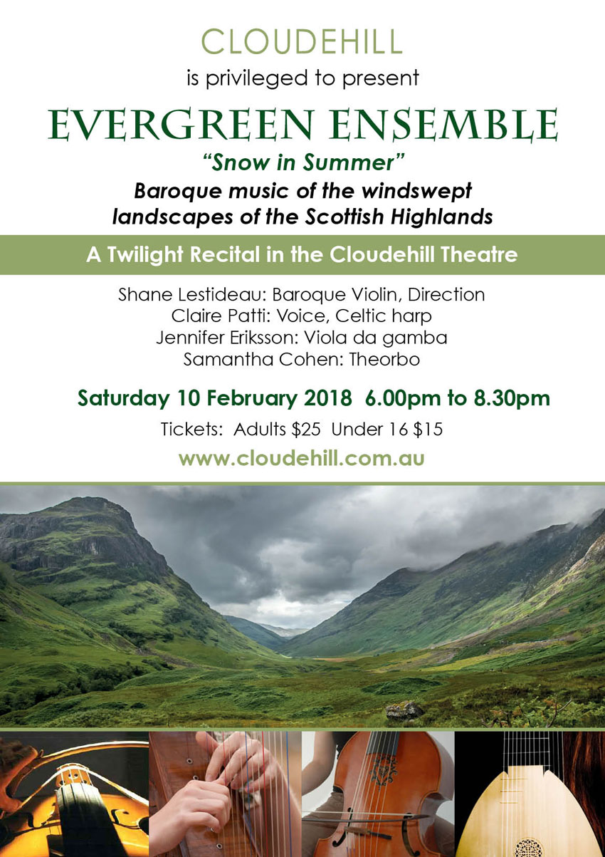Evergreen Ensemble at Cloudehill