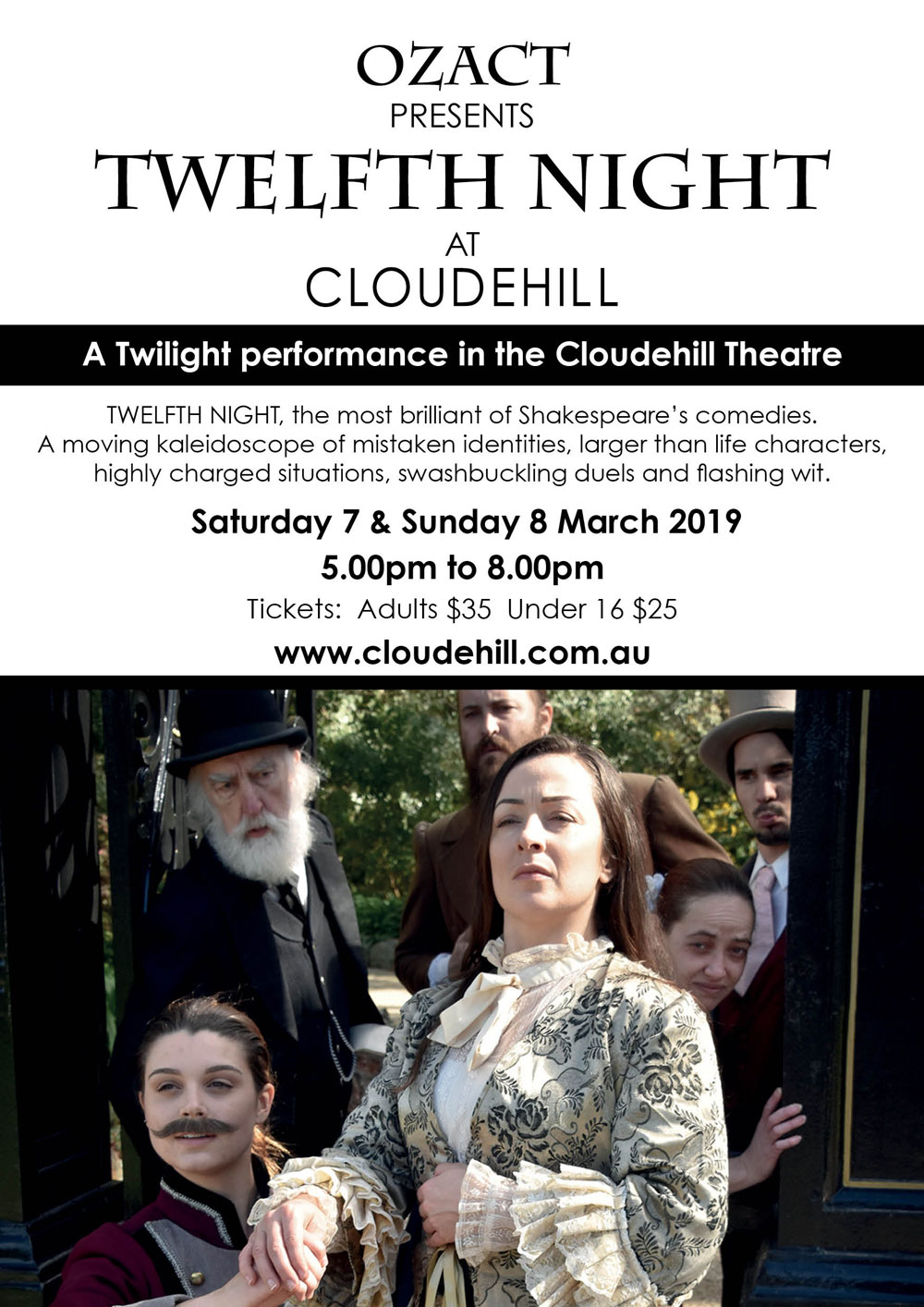 Twelfth Night at Cloudehill